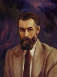 Картина Рерих С.Н. автопортрет