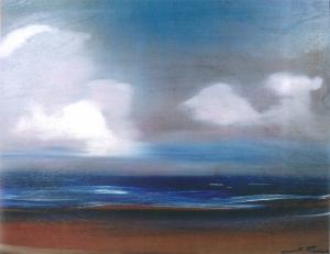 Картина Рерих С.Н. аравийское море. 1961.