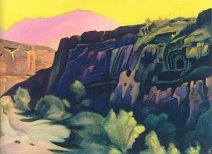 Рерих Н.К. Аджанта (Скальные храмы)