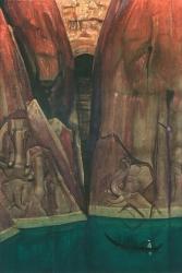 Рерих Н.К. Ашрам. 1931.