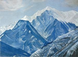 Рерих Н.К. Белые Гималаи. 1931