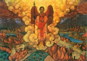 Рерих Н.К. Ангел последний. 1912