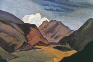 Рерих Н.К. Балтистан. Граница с Ладакхом. 1936.