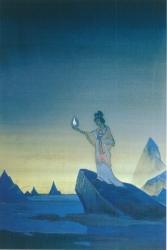 Рерих Н.К. Агни Йога (проект фрески I) 1928