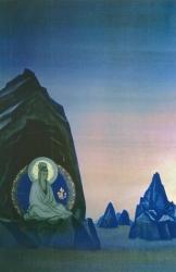 Рерих Н.К. Агни Йога (проект фрески II) 1928