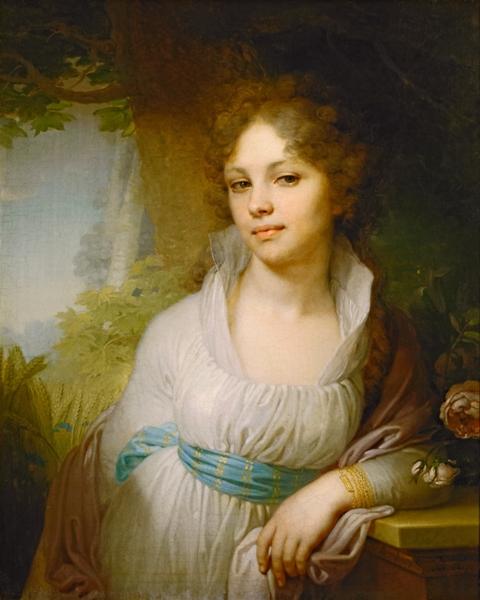 Borovikovskiiy Portret Lopuxinoiy